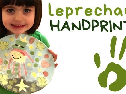 Leprechaun Handprint Workshop - March 2