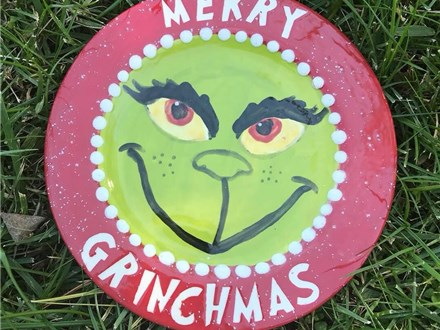 Family Pottery - Merry Grinchmas - 12.15.18