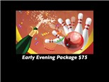 New Years Eve Early Afternoon $75