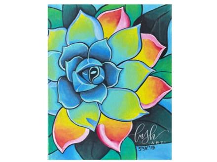 Succulent Paint Class - Perry