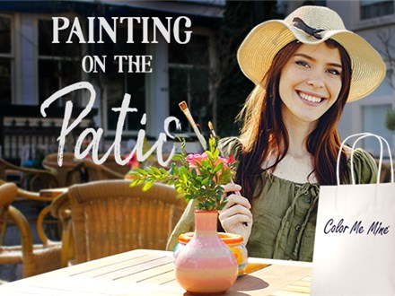 **Sold Out**Painting on the Patio at Paris Bistro- Thursday, October 29th 5:30pm