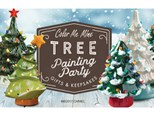 Tree Painting Party- Sun, Nov 11th- 4 to 6pm