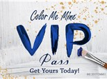 VIP Pass - Color Me Mine Oxford Valley - 2019