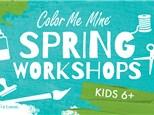 Spring Break Workshops - March 30 - April 3 & April 6 - 10, 2020 (Torrance)