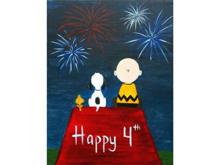 Happy 4th of July Charlie Brown