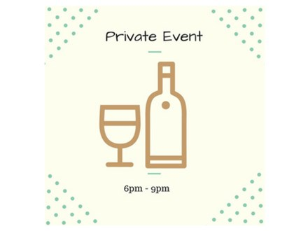 Private Event away from Studio - June 14
