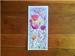 Spring Flowers (ages 13+) Watercolor Class