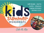 Summer Camp Mermaid Tail Canvas with Paper Friday, August 14th 10am-12pm