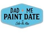 Dad & Me Paint Date at Color Me Mine!