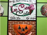 Ice Cream Cafe - Halloween Flavor Unveiling and Bowl Painting - Monday Oct 25th 5:30 & 6:30