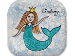 Mother - Daughter: Mermaid Portrait Plate Activity!