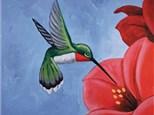 "Paint & Sip ""Hummingbird"""