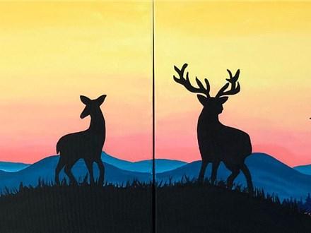 Couple's Canvas - Mountain Morning - 11.24.18