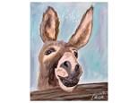 Donkey Paint Class