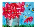 Flower Tin Paint Class