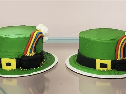 Parent/Child St. Patty's Day Cake (March 13th, 10am)