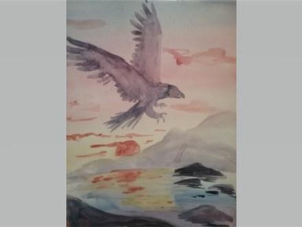 Eagle Eye - Watercolor