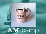 Cat Mug (FLOOFY FRIENDS) July 31st, Morning Camp 2018