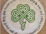 Raegan's Celtic Shamrock Coupe Plate Event - 03.03.17