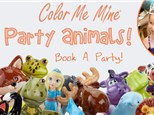 Basic Party at Color Me Mine Davie