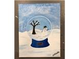 Kids Canvas: SnowGlobe