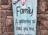 July 12 Family Wood Board