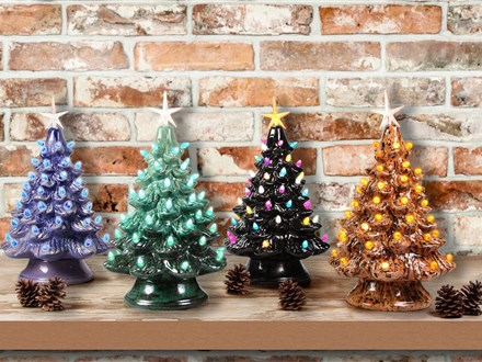 Vintage LIT Trees - Special Class Pricing | Dec 17th