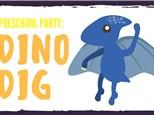 Preschool Party: Dino Dig - June 9