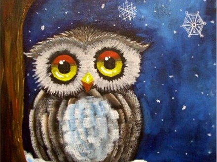 Adult Canvas - Owl Be Watching - 01.05.17 - Evening Session
