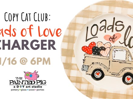 Copy Cat Club - Load of Love (1/16) (Class Fee Only)