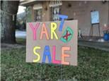 Yard Sale! - 08.10.19