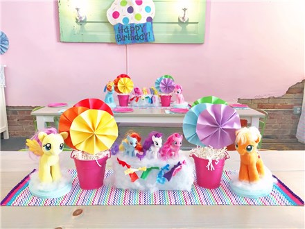 My Little Pony: $295+ tax ($125 non-refundable deposit)