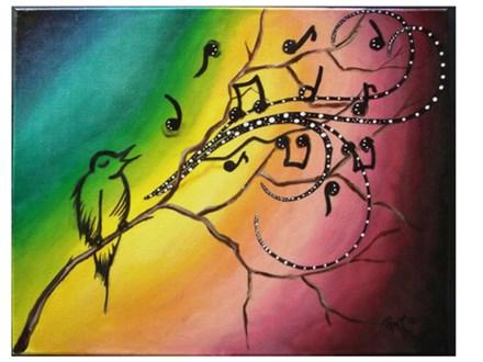 "Couples Date Night ""Songbird Lovebirds"""