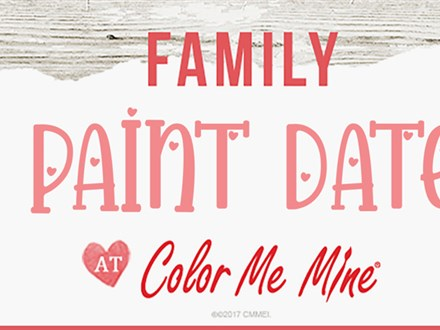 Family Valentine's Paint Date