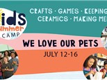Summer Camp:  We Love Our Pets - July 12-16