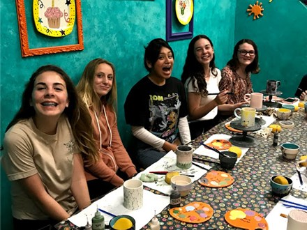 Ceramic Painting Parties Ages 12+