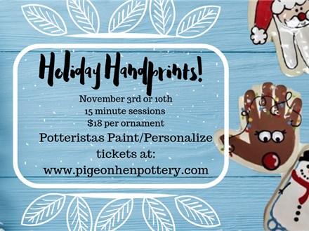 Holiday Handprints!!