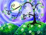 Whimsical Tree (additional time required for 16x20 canvas)