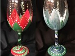 Creative Goblet Class - Floral Frost/Chirstmas Floral Pattern Nov 14 & 27