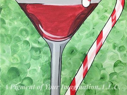 Christmas Cocktail Paint and Sip