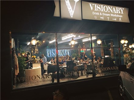 Class at The Visionary - (4th week Oct.)