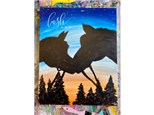 Horses Paint Class - Perry