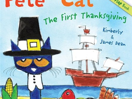 Story Time - Pete the Cat: The First Thanksgiving - Morning Session - 11.12.18