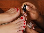 Manicure and Pedicure: QQ Nails and Spa