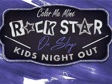 Kids' Night Out: Rock Star - April 24th @6PM