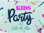 Birthday Party at COLOR ME MINE - MAPLE GROVE