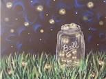 Adult Canvas Night July 17th - Catchin' Fireflies