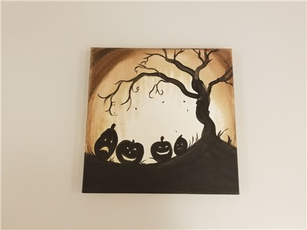 Four Jacks Kids Canvas Class $25 (Age 6 and up)