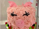 Mother/Child Pastry the Pig Cake