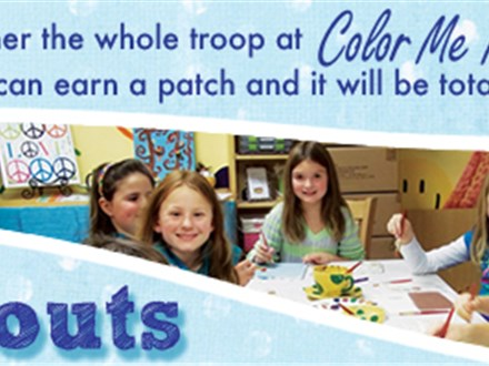 GIRL SCOUTS Color Me Mine - Katy